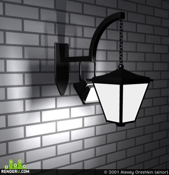preview Уличный фонарь