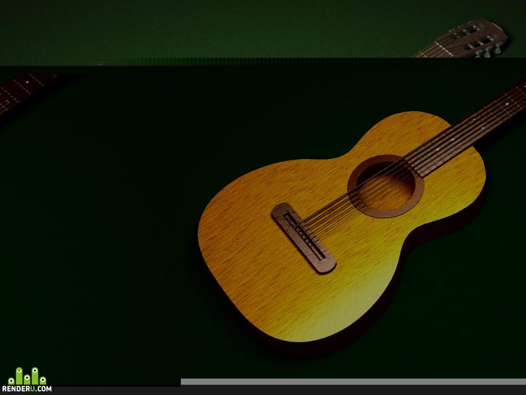 preview Акустическая гитара