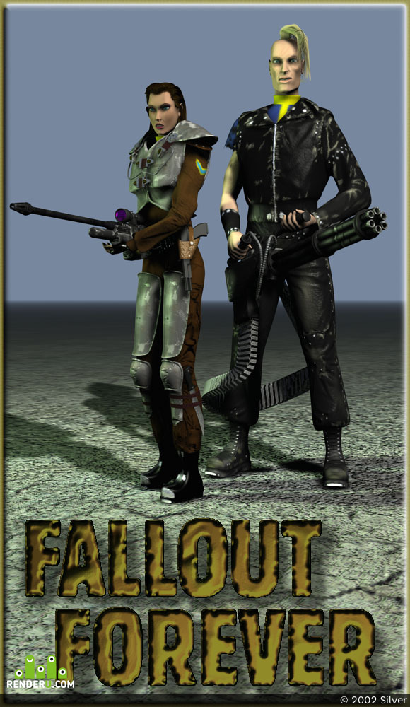preview Fallout forever!!!