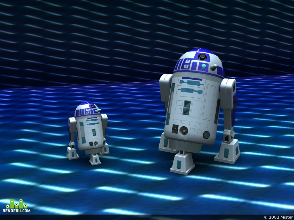 preview R2D2 and Junior