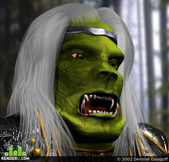 """preview Orc """"Warcraft Saga"""""""