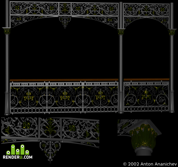preview Victorian Colonnade Components