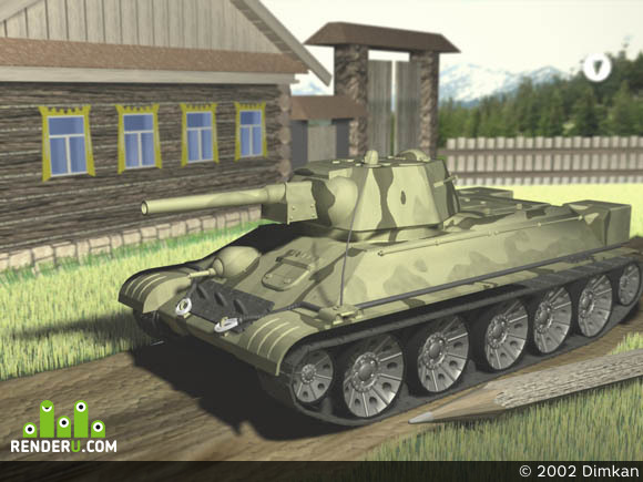 preview T-34 model 1942 g.