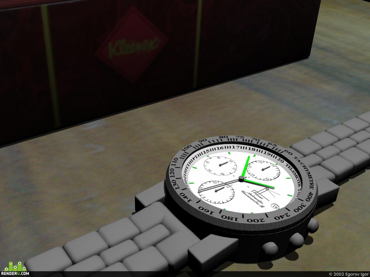 preview Часы на столе