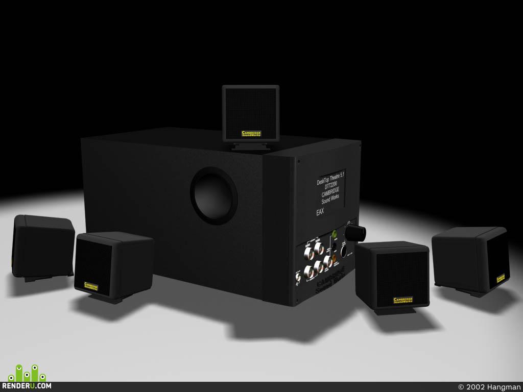 preview CREATIVE DTT2200 CAMBRIDGE SOUNDWORKS