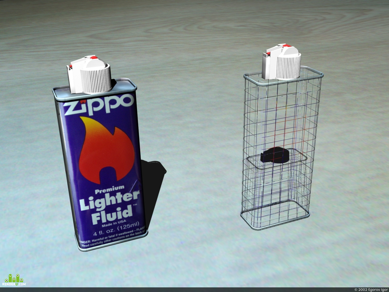 preview Zippo Lighter Fluid