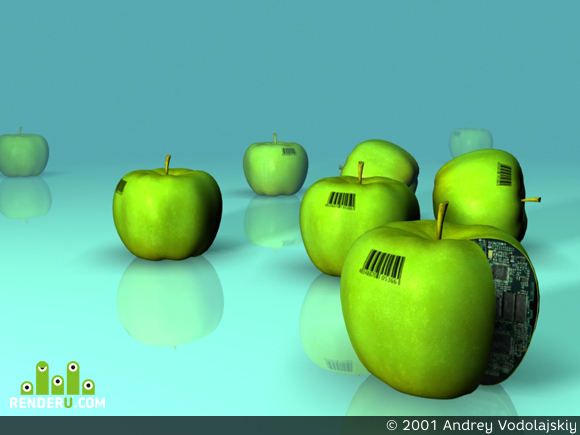 preview Трансгенные яблочки