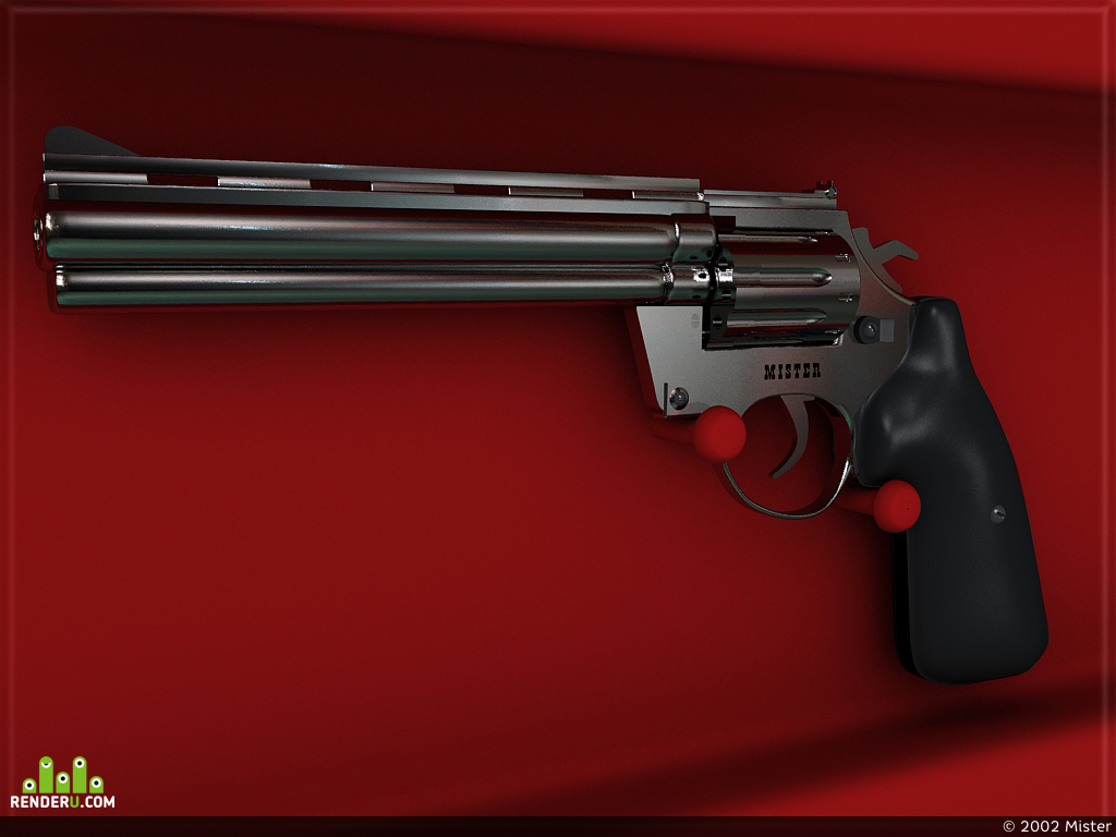 "preview Ствол аля ""Smith & Wesson""."
