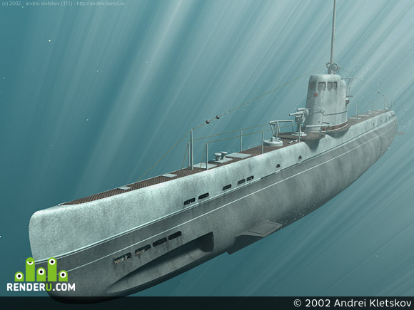 preview submarine under water