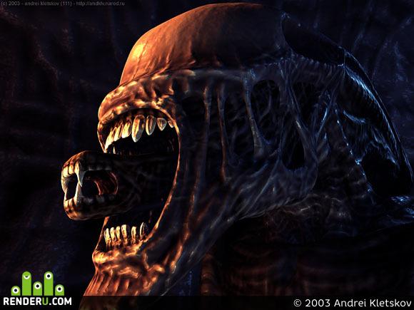 preview alien2 _ head