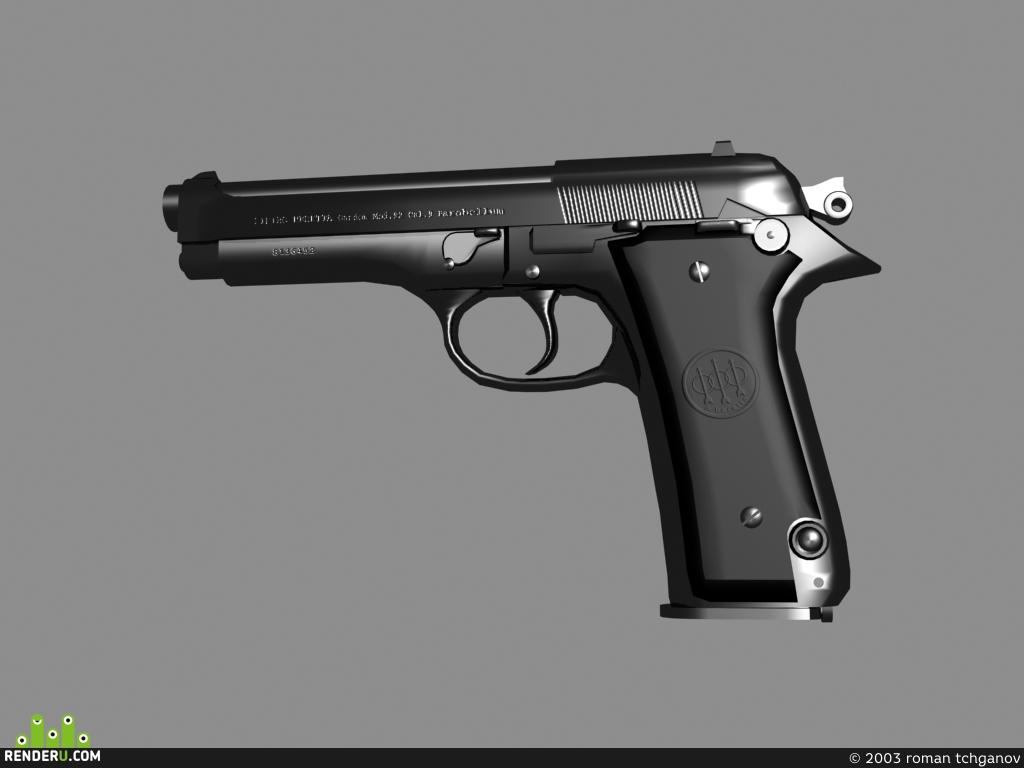 preview Opyat Beretta 92
