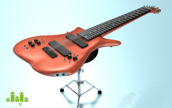 preview Warr Guitar