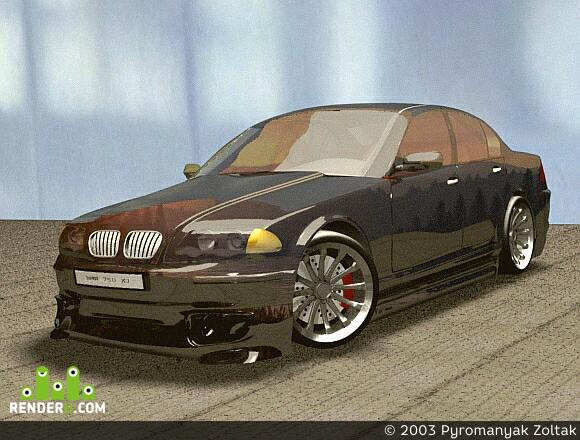 preview BMW 750 Xi