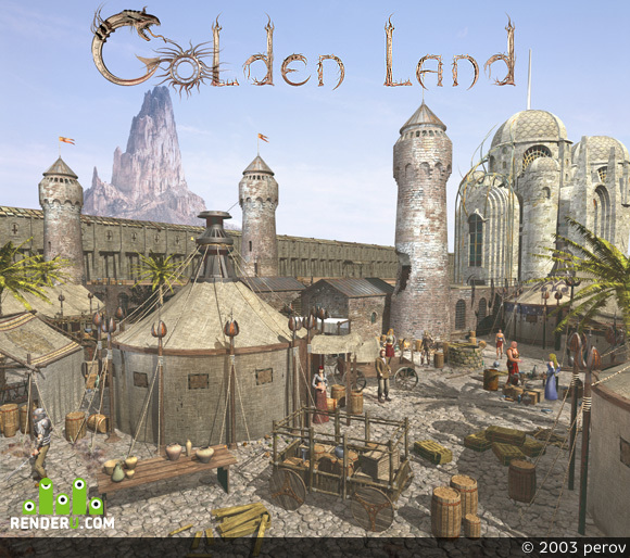 preview Golden Land