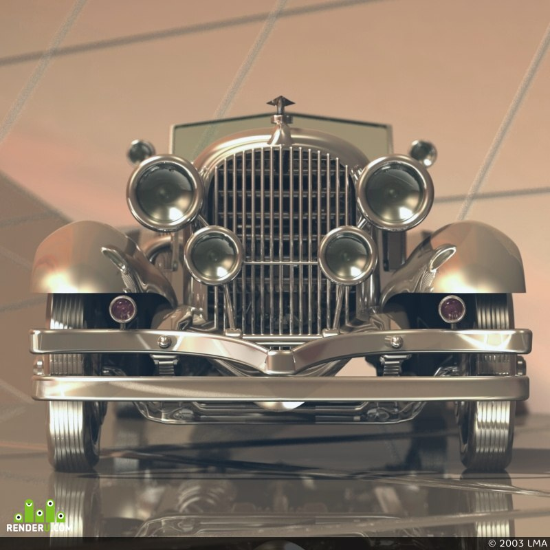 preview Duesenberg Speedster. Variant 2.