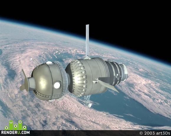 preview Space_Ship_ver.1.0