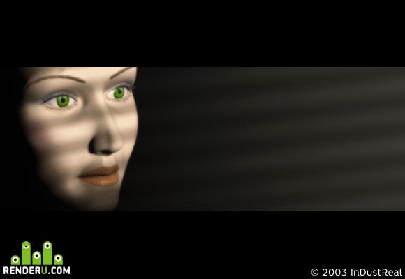 preview Полосатая женщина-2