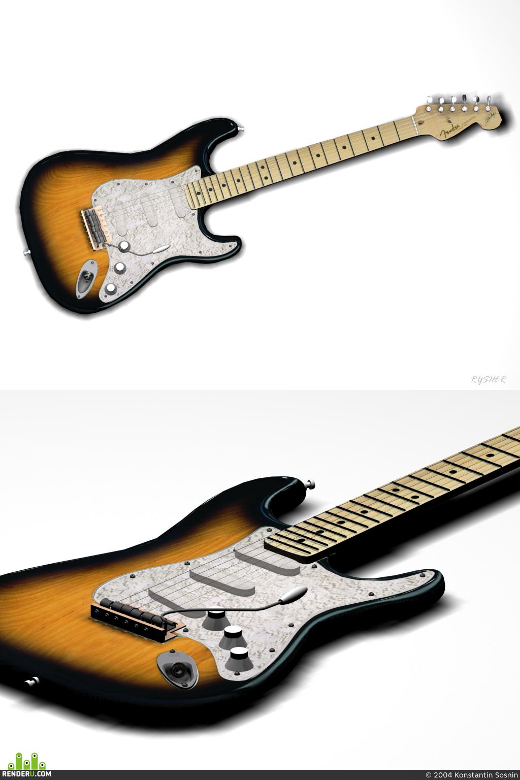 "preview Gitara ""Fender Stratocaster"""