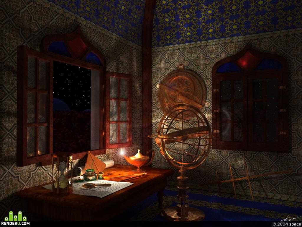 preview Samarkand, 1448g. Pokoi hana Ulugbeka, vnuka Timur - Lenga.