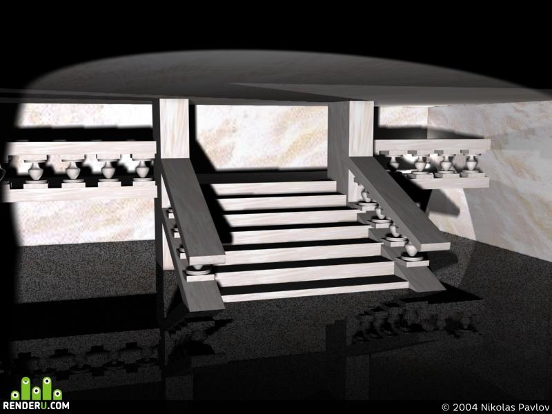 preview Лестница Эрмитажа, Питер