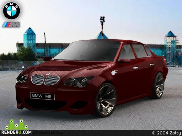 preview BMW M5 2004