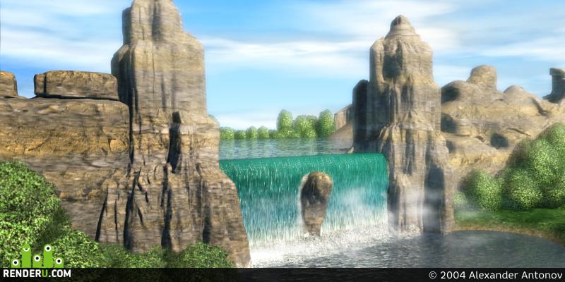 preview Водопад