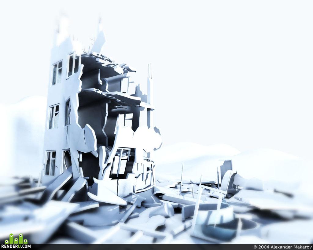 preview Разрушенный дом
