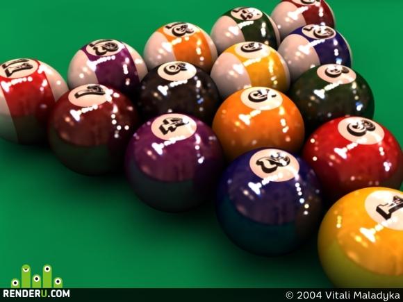 preview Pool Balls
