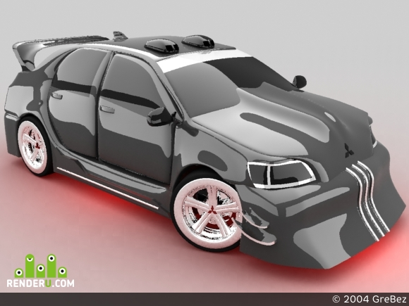 preview Lancer Evolution VII