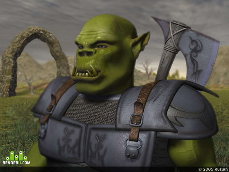 preview King of orcs