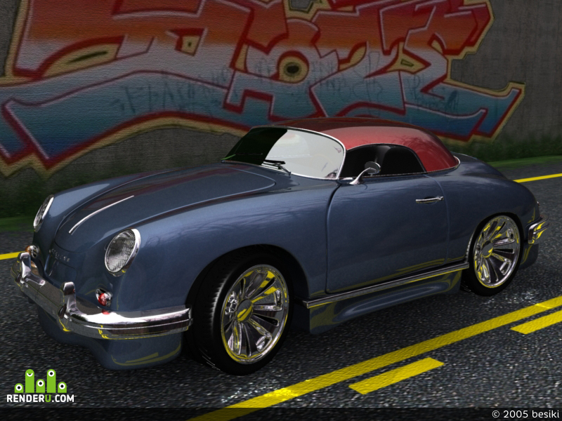 preview porshe 356b new