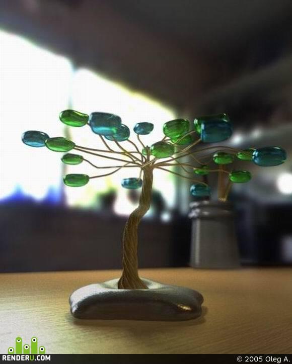 preview Декоративное деревце
