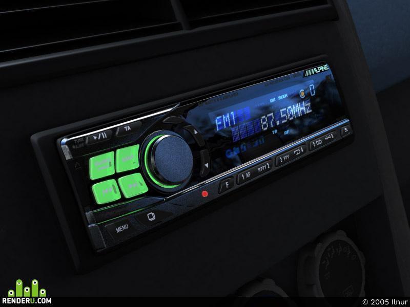 preview CD-ресивер Alpine CDA-9815R