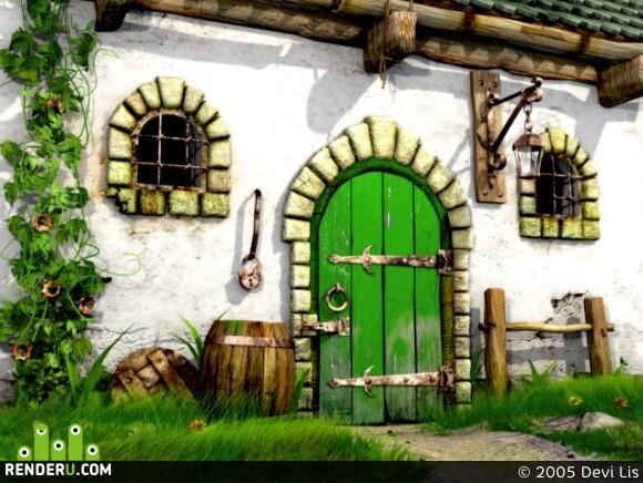 preview Дом с зеленой дверью