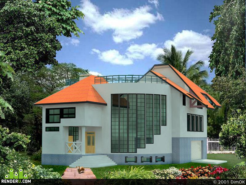 preview Проект жилого дома