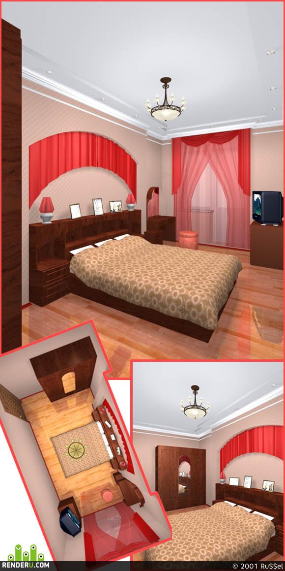 preview Пенал --> спальня