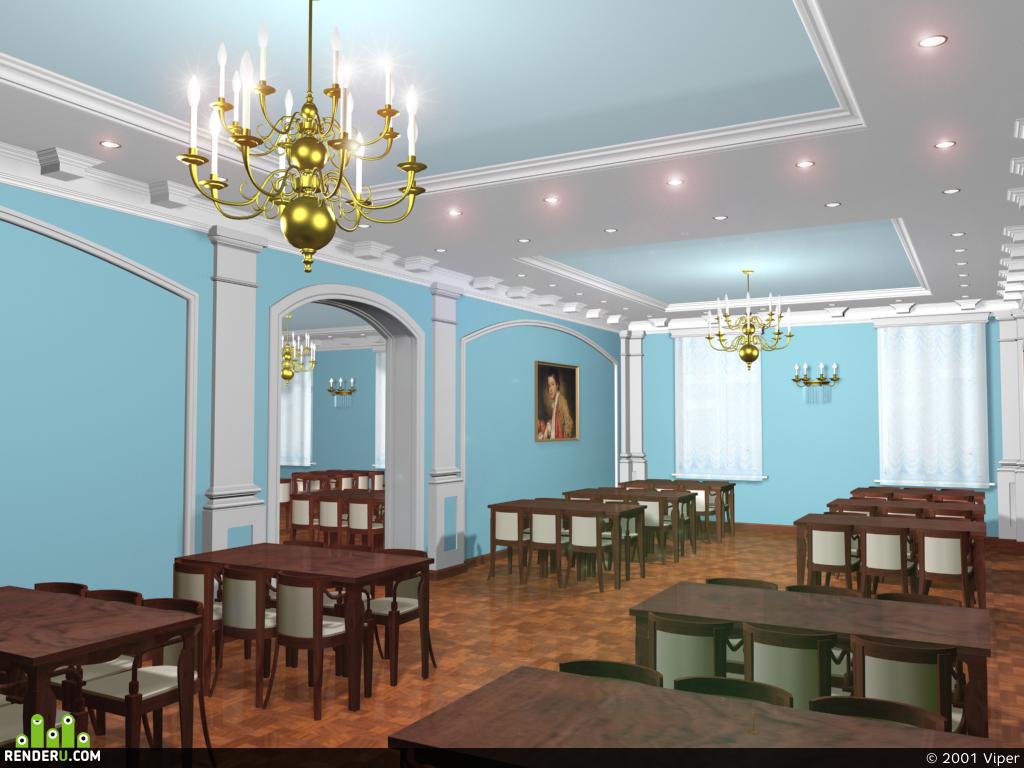 preview Столовая военного колледжа