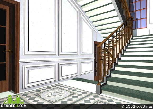 preview лестница банка