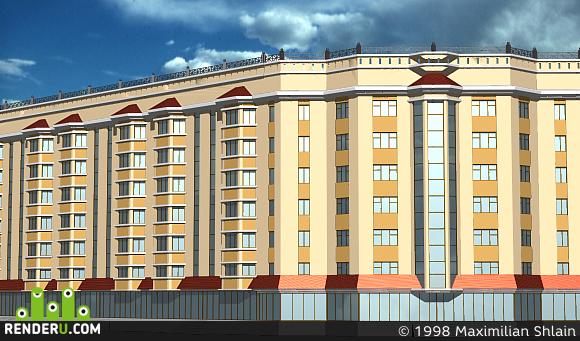 preview 7-этажный жилой дом