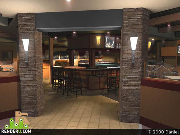 preview Ресторанчик с баром в отеле.