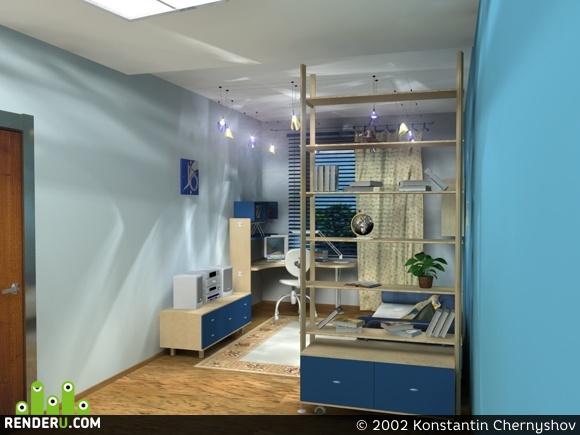 preview Интерьер детской комнаты