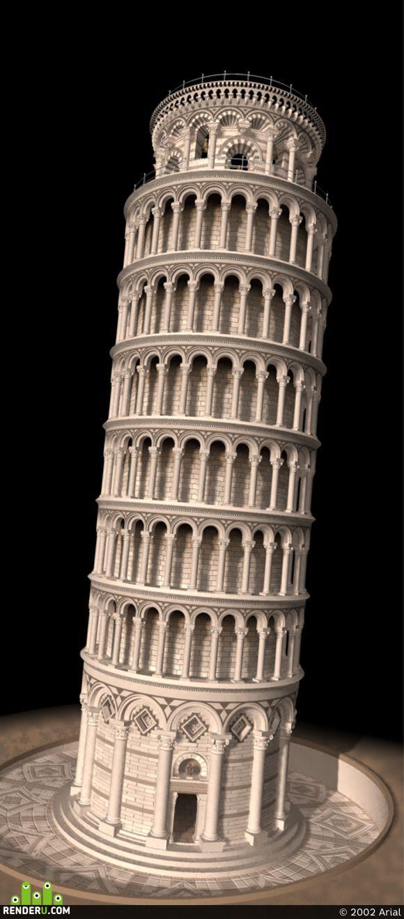 preview Torre Pisana Model
