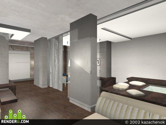 preview квартира в заводском стиле