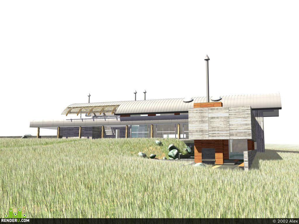preview Бунгало. частный жилой дом