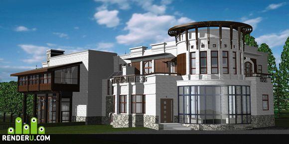 preview дом в Переделкино
