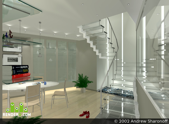 preview Glass Stairs