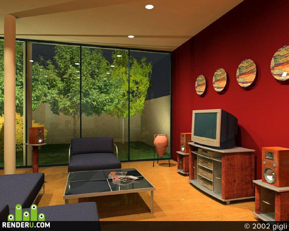 preview interior for furniture company