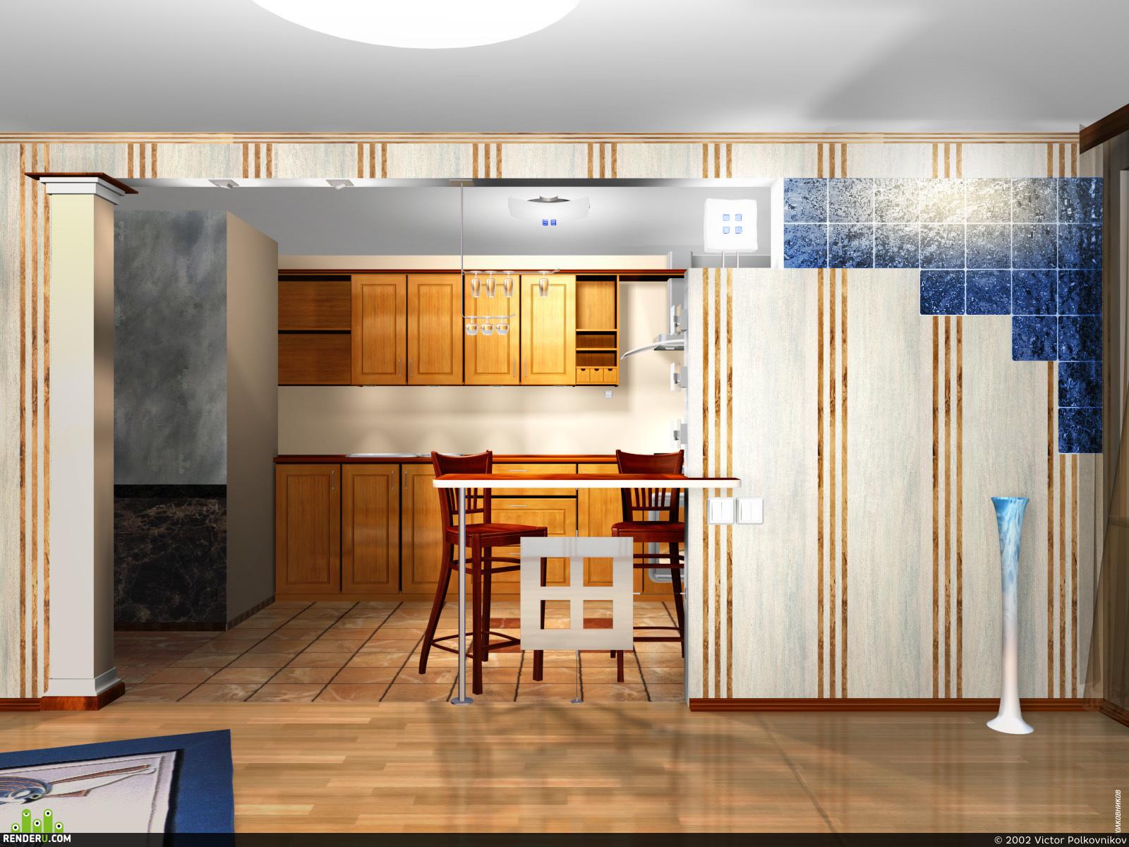 preview Кухня частной квартиры