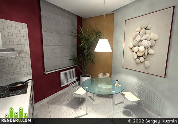 preview Кухня в 4х этажной (!) квартире