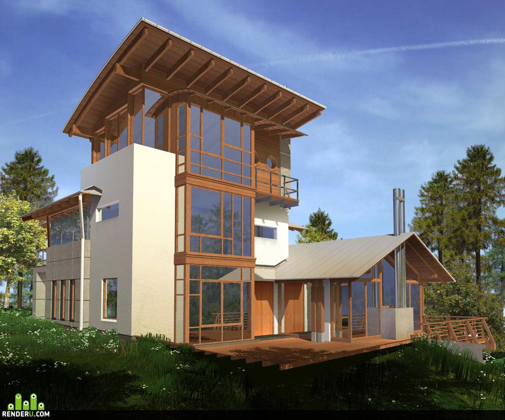 preview Загородный дом